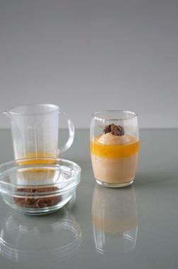 Orange-Schokolade Verrine/Laranja-Chocolate Verrine