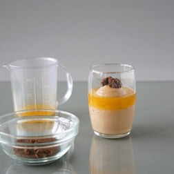 Orange-Schokolade Verrine/Laranja-Chocolate Verrine
