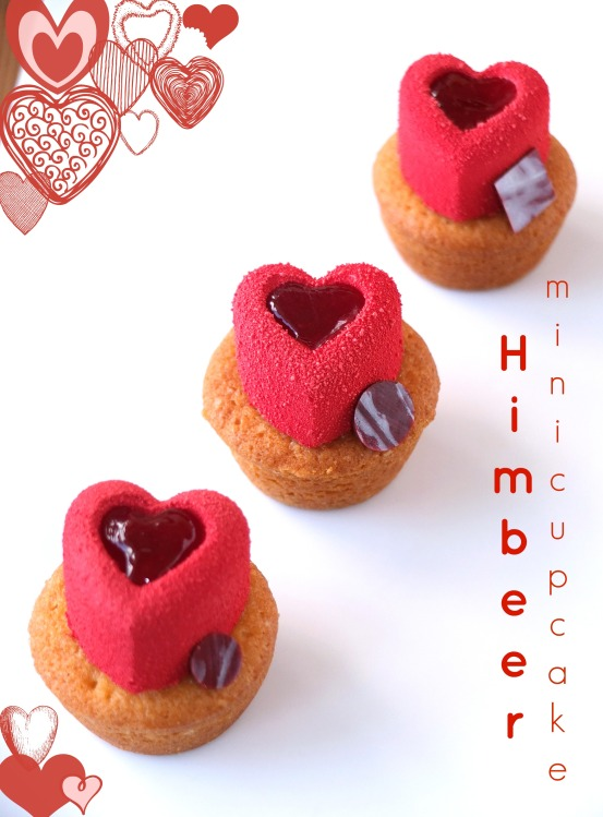 Himbeer Mini Cupcakes
