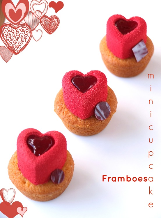 Mini Cupcakes de Framboesa