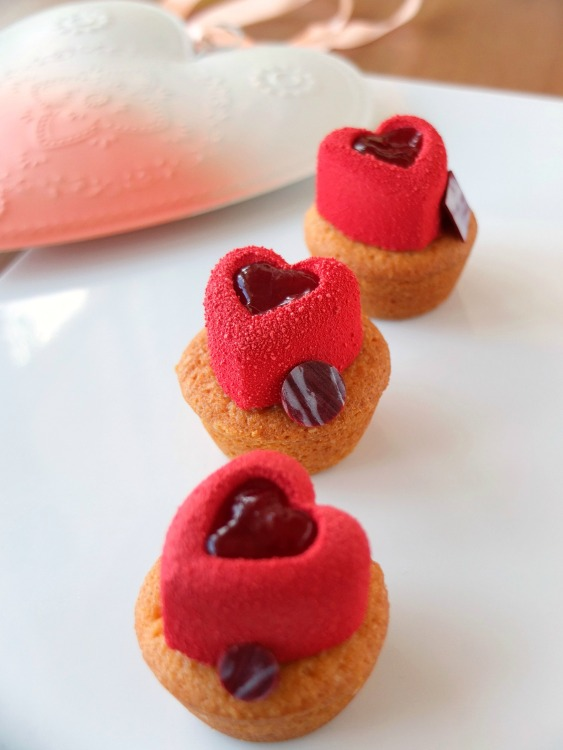 Himbeer Mini Cupcakes