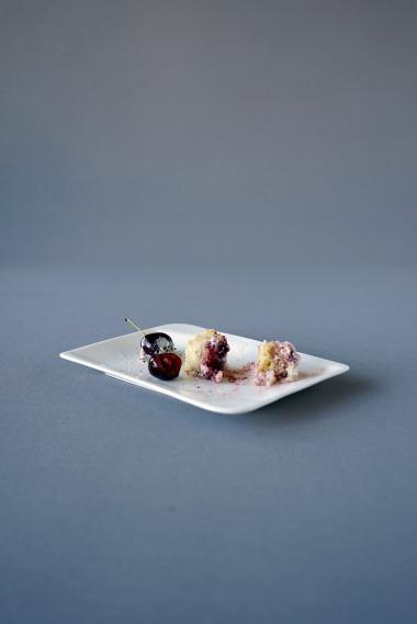 Kirschen Kokosnuss Torte / Torta de Cereja e Coco